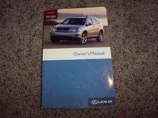 2007 Lexus RX 350 Owner Owner's User Guide Operator Manual 350 400h 3.3L 3.5L V6