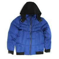 HUGO BOSS KIDS BOYS DOUDOUNE BUBBLE HOODIE JACKET J26358/811 MRP £249