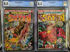 Marvel Spotlight 12 + 13 First appearance Son Of Satan CGC 8.5 WP
