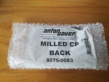 Anton Bauer Milled CP Back Raised Male Gold Mount Plate #8075-0083