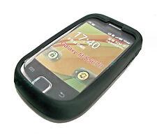 TPU Silicone Cellulare Cover Case autore in nero per Samsung s5670 Galaxy Fit