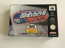 N64 NINTENDO 64 NHL WAYNE GRETZKY'S 3D HOCKEY   PAL  MULTILANGUAGE BOX NEW NIB