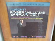 Roger Williams at Town Hall Tonight! Complete Concert 2 LP Kapp KX-5008-S 1961