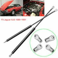 Front Bonnet Hood Gas Struts Lift Shock Support For Jaguar XJS 1986~1991x2