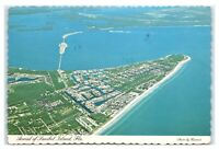 Postcard Aerial of Sanibel Island, Florida FL 1983 K20