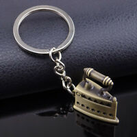 NE_ Unisex Vintage Iron Pendant Charm Car Key Ring Key Chain lady Bag Accessory