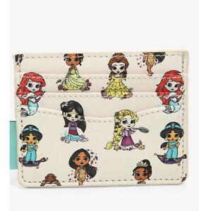 Loungefly Disney Young Princesses Cardholder Slim Wallet - Belle Rapunzel Ariel