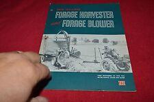 New Holland 600 Forage Harvester Brochure YABE13