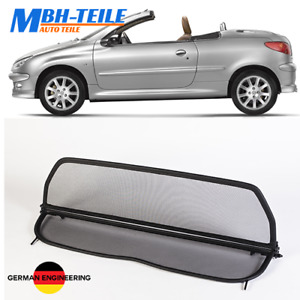 MBH Filet Anti Remous de Peugeot 206 cc | 2000-2008 | coupe vent | Pliable