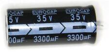 RADIAL 3300uf 35v 105 ° C eurocap (pacco da 2)