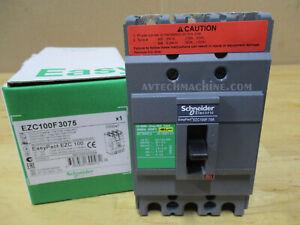 Schneider Thermal-Magnetic Breaker 3P75A EZC100F3075