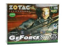 New Zotac 8600GTS AMP! Edition 256M OC HDCP SPDIF Dual Link DVI w Sound Sealed