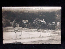 1928 Tennis Courts at Camp Allegro Allaben NY post card Ulster County