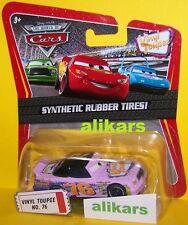 O - VINYL TOUPEE - No 76 Piston Cup Disney Pixar Cars Mattel auto die-cast new
