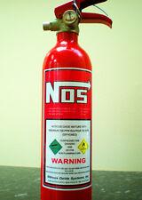 NUOVO protossido di azoto Iniezione Bottle Adesivo trascinare JDM NOS RACE DRIFT NOZ N2O ETC