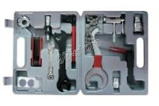 UNIVERSAL BICYCLE HOME MECHANIC 25PC TOOL KIT SET REPAIR With A Case