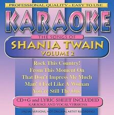 Various Artists : Shania Twain Karaoke, Vol. 2 CD
