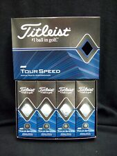 Titleist Tour Speed Dozen Golf Balls.