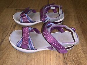 Girls Clarks Sandals Size 1