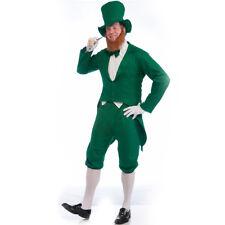 Leprechaun Costume Adult Mens St Patricks Day Paddys Green White Halloween