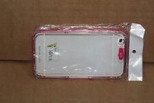 "Pink Mobile Phone Case Silicon Soft Plastic Rubber Case - iPhone 6 4"" Screen"