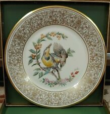 Lenox 1973 Meadowlark Limited Edition Collectors Plate