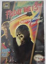 "SDCC JASON VOORHEES NECA VIDEO GAME NES Friday The 13th 7"" INCH 2013 FIGURE"