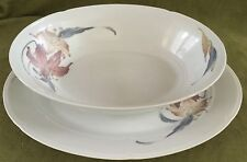 "Nouvelle Cuisine ""ANATOLE"" by FINE PORCELAIN CHINA Serving Bowl & Platter JAPAN"
