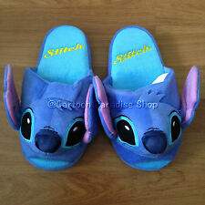 DISNEY LILO & STITCH PLUSH SLIPPERS SHOES UK SIZE 3-7, US 5-9, EU 34-40