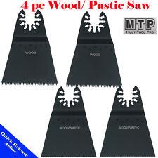 4 Saw Blade Oscillating Multi Tool Fein Multimaster Porter Cable Dewalt Ridgid