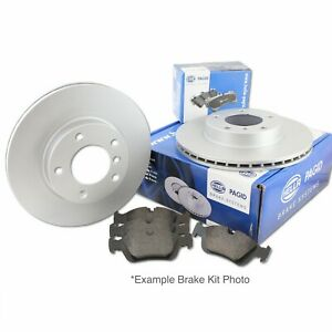 Hella Pagid Front Brake Kit 300mm DPK070 fits Volvo S40 544 2.4 T5 2.0 D