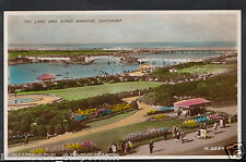 Lancashire Postcard - The Lake and King's Gardens, Southport   RT1828