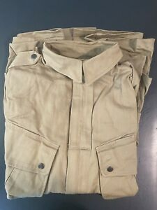 WWII US Army M1942 Jump Jacket, Paratrooper,  Reproduction Uniform