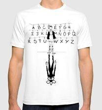 Stranger Things T-shirt Men's Women's New White Cotton Tee S-3XL