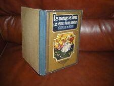 MALHEURS DE SOPHIE ET PETITES FILLES MODELES - 1937 - COMTESSE DE SEGUR D'AVENE