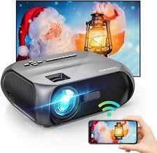 """Bomaker ES-S5 Proiettore Portatile WiFi Videoproiettore 6000 Lm 720P Nativo 300"""""""