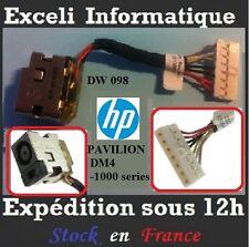 Conector Dc Jack Alambre De Cable dw098 HP Pavilion DV4-4000 serie 650457-001