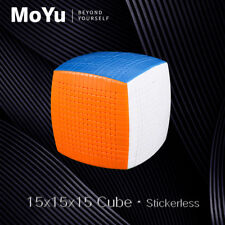 MoYu 15x15x15 Stickerless Magic Cube Professional Intelligence 15x15 Puzzle