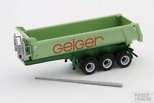 """Herpa Rundmuldenauflieger """"Geiger"""" aus Nr. 943420 /HN800-2"""