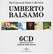 "UMBERTO BALSAMO ""THE UNIVERSAL MUSIC COLLECTION"" RARO BOX 6 CD - SIGILLATO"