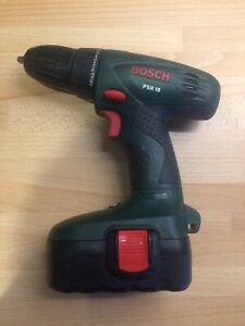 Bosch PSR 18 Cordless Drill Used Condition With Battery