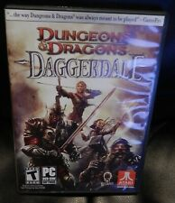 Dungeons and Dragons DND Daggerdale PC Game Complete 2011 Atari Fantasy RPG