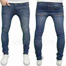 Loyalty and Faith Mens Designer Branded Stretch Super Skinny Fit Jeans, BNWT