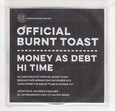 (HS559) Official Burnt Toast, Money As Debt / Hi Time - 2015 DJ CD