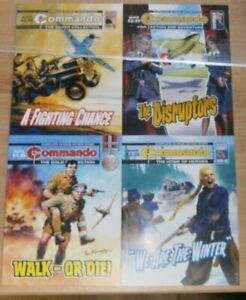 Commando comic #5443 #5444 #5445 #5446 - 12th June 2021