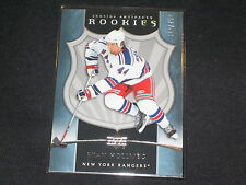 RYAN HOLLWEG RANGER STAR GENUINE AUTHENTIC LIMITED EDITION HOCKEY CARD /750