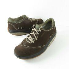 MBT Barbara Suede Leather Rocker Toning Walking Shoes Women's Size 8.5 400066-13