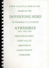 AYRSHIRE COWS - V RARE - SADDLEWORTH - RECORD DOVESTONE HERD 1943/59 GREENFIELD