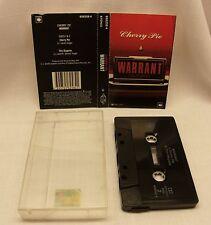 Warrant Cherry Pie Australian cassette single tape CBS c.1990