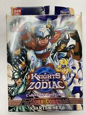 Knights of the Zodiac Collectable Card Game (CCG): Perilous Conquest Starter NEW